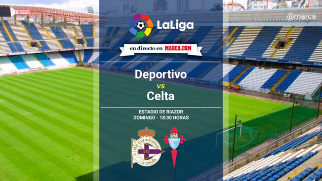 Deportivo vs Celta en directo