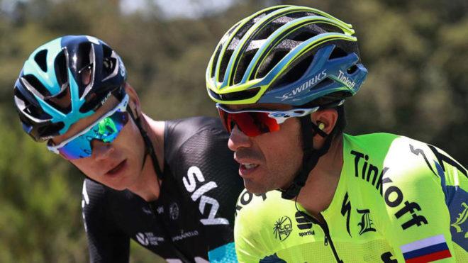 Froome y Contador en el pasado Tour de Francia.