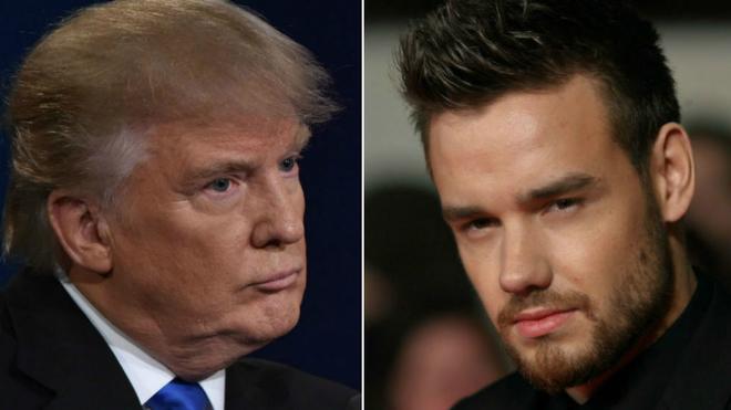 Donald Trump y Liam Payne
