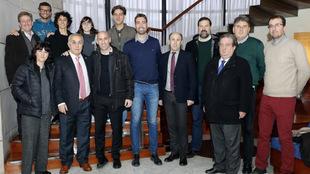 Alejandro Blanco, durante una reunión con asociaciones de deportistas
