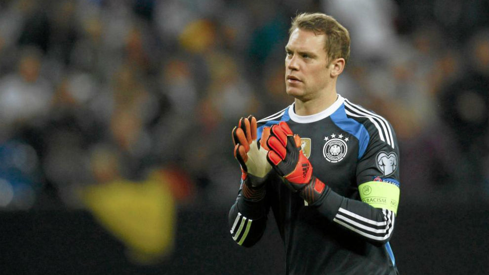 Neuer con Alemania