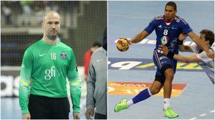 Thierry Omeyer y Daniel Narcisse.