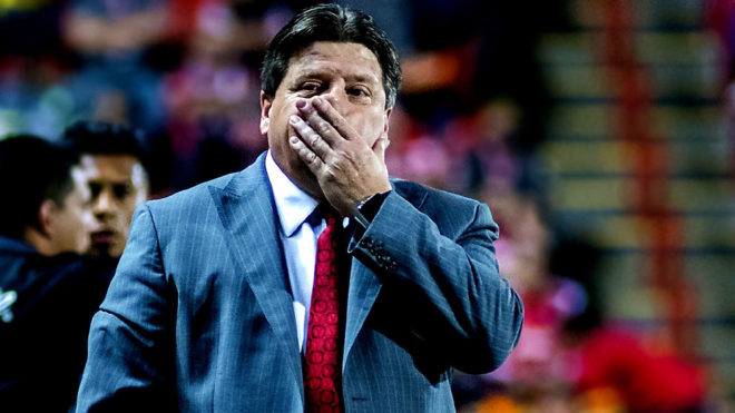 Herrera se encaró con un aficionado