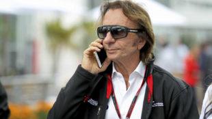 Fittipaldi, durante el pasado Gran Premio de M�xico.