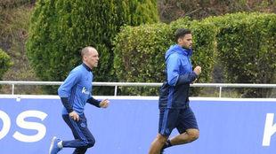 Willian corre en Zubieta.