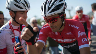 Alberto Contador en la Volta a Catalunya.