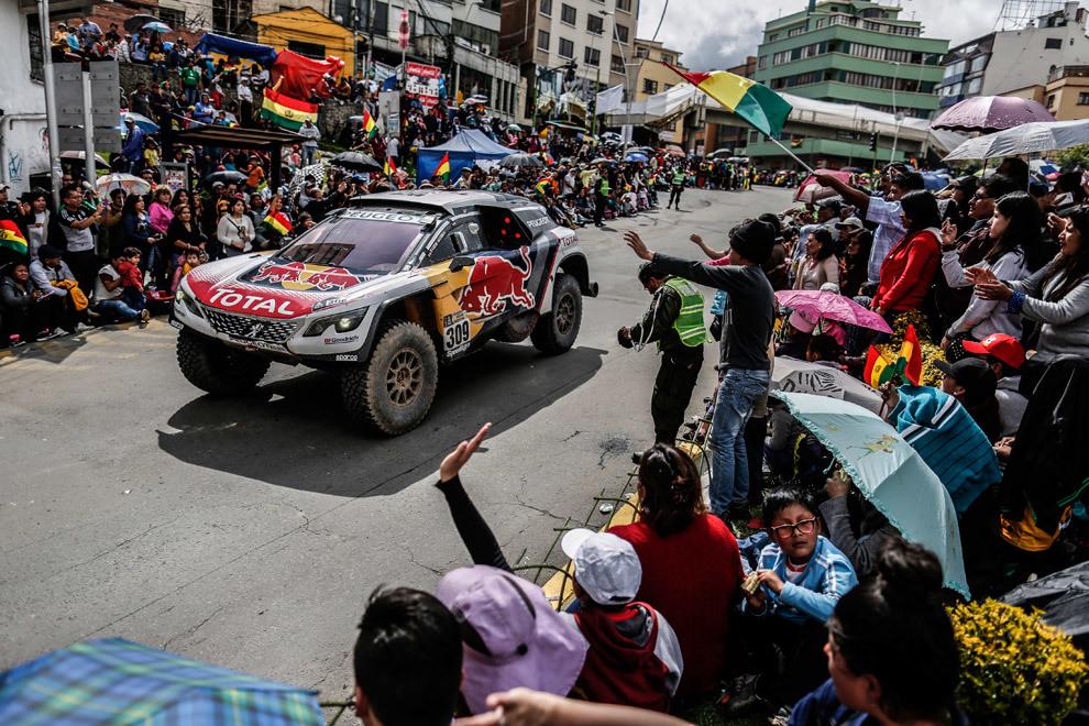 La Paz volverá a acoger la jornada de descanso del Dakar