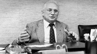 Ibáñez Arana, en su despacho de presidente
