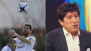 Messi y Zamorano, ídolos en Argentina y Chile.