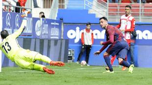 Kike García bate a Diego López en el último partido.