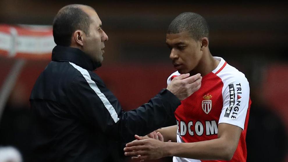 Leonardo Jardim fue quien le dio la oportunidad a Kylian Mbappé