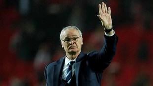 Ranieri en su etapa como entrenador del Leicester