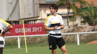 Gerard Nus con Ghana.