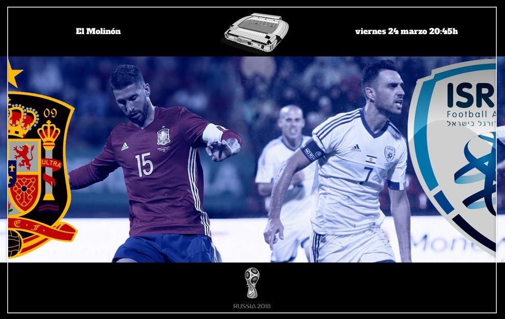 España vs Israel en directo