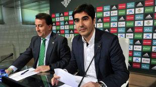 Haro y Catalán, en rueda de prensa