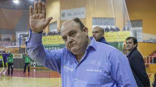 'Zupo' Equisoain, en su etapa como entrenador del Ciudad...