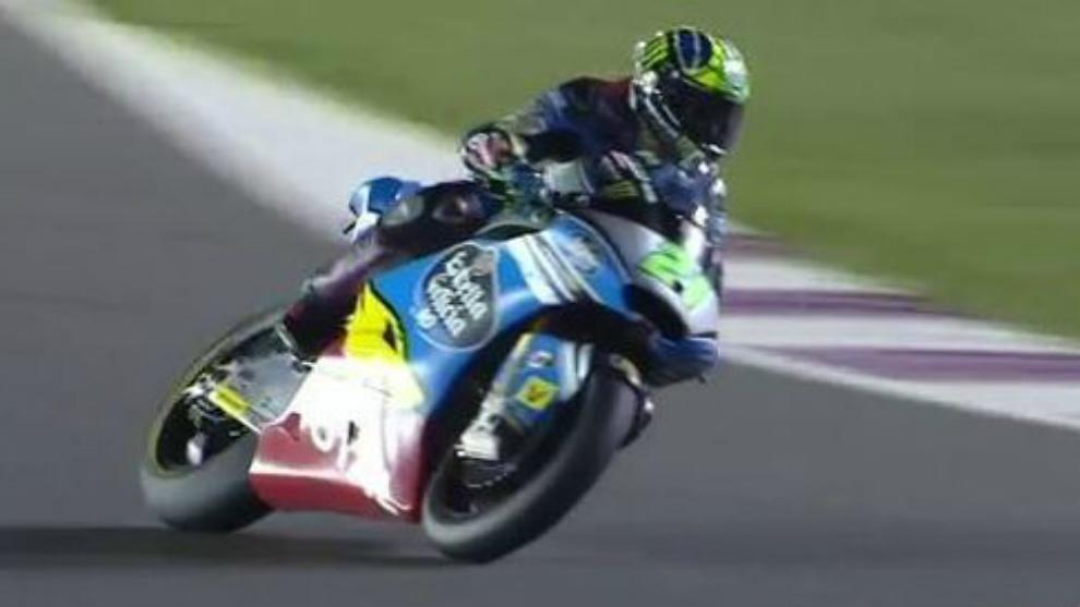 Fanco Morbidelli logró el mejor tiempo de Moto2