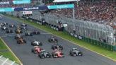 Salida del GP de Australia 2016