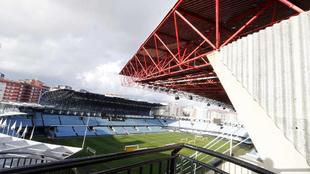 Panorámica del estadio de Balaídos.
