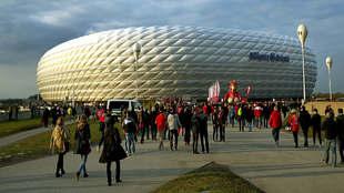 El estadio del Bayern de Múnich hace pleno. Sus 75.000 butacas se...