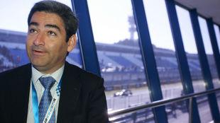 Juan Baquero, en su etapa de gerente del Circuito de Jerez