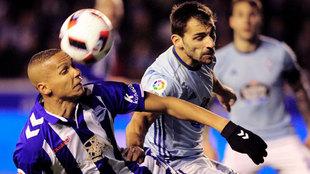 Jony Castro jugador del Celta de Vigo y de la selección sub 21