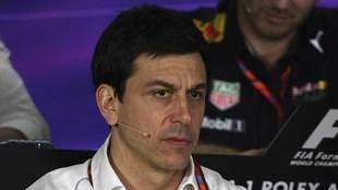 Toto Wolff, director ejecutivo de Mercedes F1.
