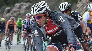 Alberto Contador, en una de las etapas de la Volta 2017.