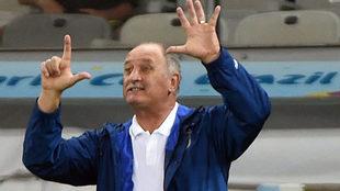 Scolari, el día que Alemaía le propinó el 1-7 a Brasil.