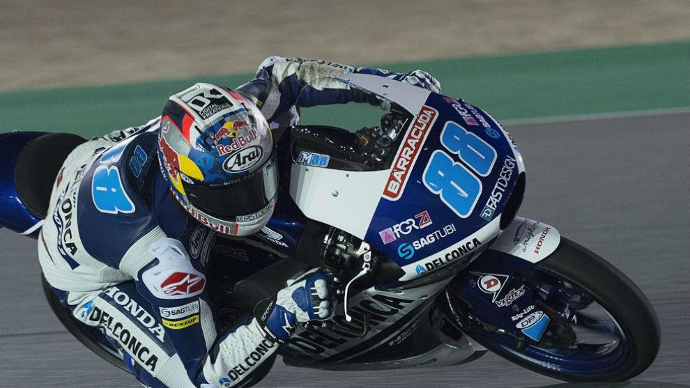 Jorge Martin, piloto español de Moto3