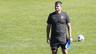 Roberto Frenedoso entrenamiento Atlético de Madrid B