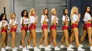 Las mejores imágenes de las cheerleaders de las diferentes...