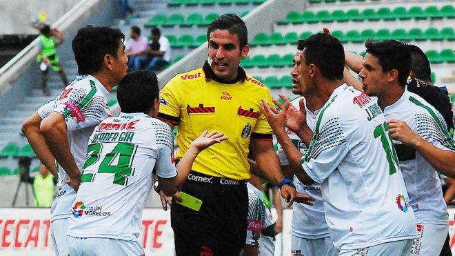 Mario Humberto Vargas, el árbitro central del encuentro
