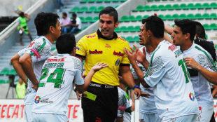 Mario Humberto Vargas, el �rbitro central del encuentro