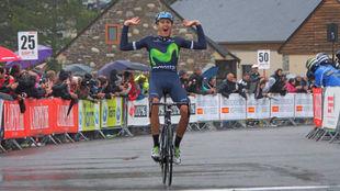 Marc Soler entrenándose en la Route du Sud