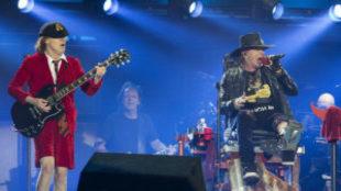 AC/DC con Axl Rose como vocalista en sustitución de Brian Johnson