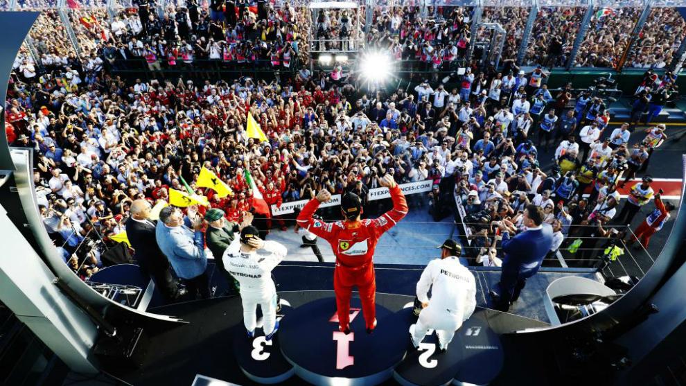 Ferrari, líder un lustro después