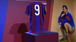 Presentación de los actos en memoria de Johan Cruyff