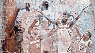 Los hombres de hierro de la NBA