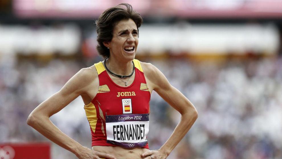 Nuria Fernández, en los Juegos de 2012.