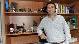 López Catalán, en su antiguo despacho de Genera Games