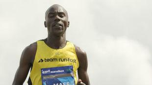Elicky Kipchoge Mase, en un maratón.