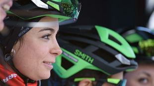 Sheyla Gutiérrez, antes de una carrera holandesa, esta campaña.