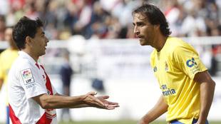Matías Lequi, en su etapa como futbolista de la UD Las Palmas.