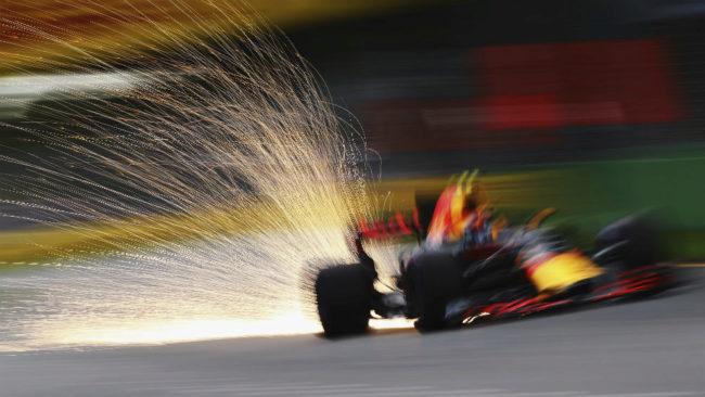 Max Verstappen, durante el pasado GP de Australia disputado en el...