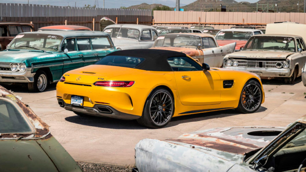 Mercedes-AMG GT Roadster y GT C Roadster: sensaciones a flor de piel 14909432133962