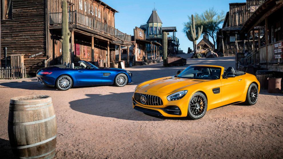 Mercedes-AMG GT Roadster y GT C Roadster: sensaciones a flor de piel 14909434144846