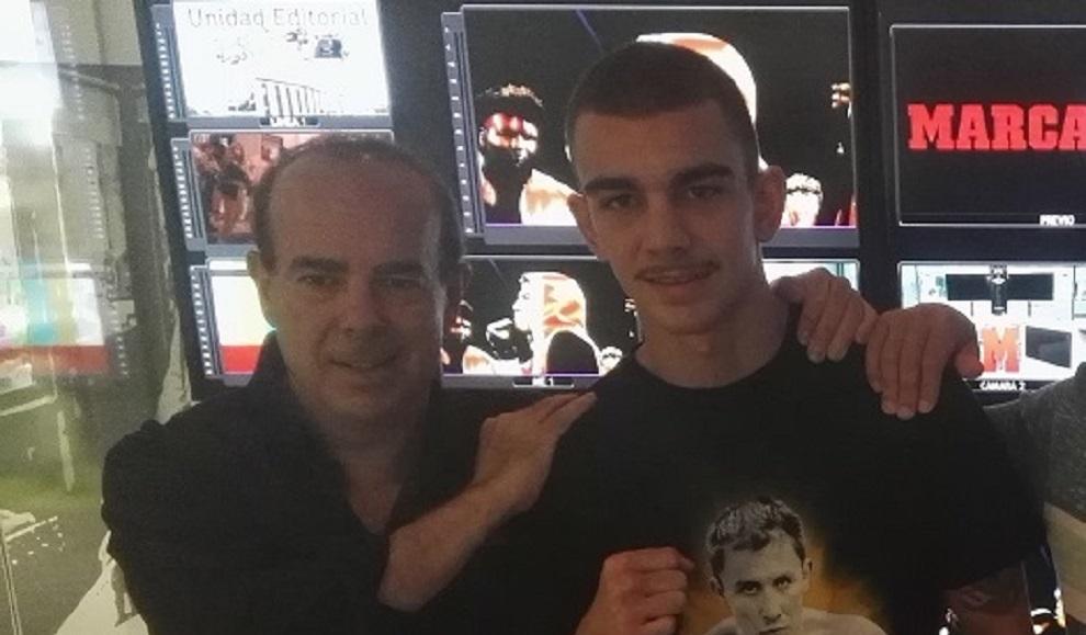Emilio Marquiegui y Jon Fernández
