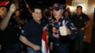 Carlos sainz, durante el pasado Dakar