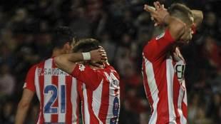Fran Sandaza, Portu y Longo se lamentan tras la derrota ante el Cádiz...